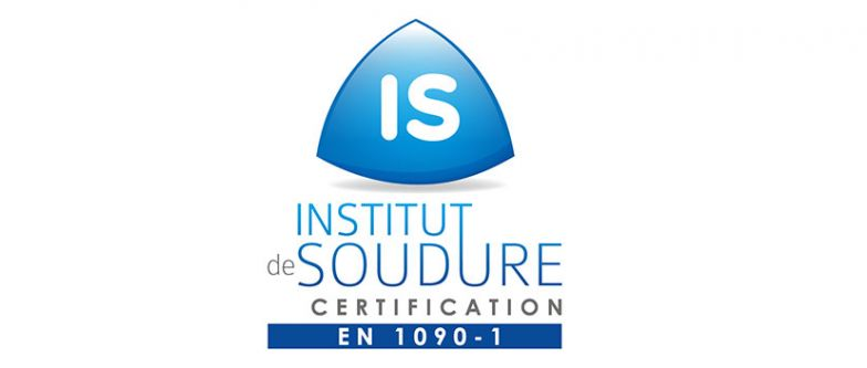 RBL-REI - Obtention de la certification EN 1090-1